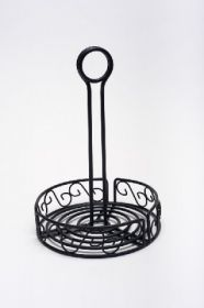 """Round Wire Table Caddy 15cm / 6"""""""