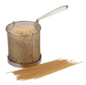 Stainless Steel Spaghetti Basket 15cm x 15cm