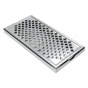 "Large S/S Drips Tray 12"" x 6"""