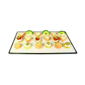 """Contra Square Plate 26 x 26cm / 10"""" x 10"""""""
