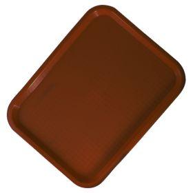 Sunnex Fast Food Brown Tray 26cm x 34cm - FF3426-B