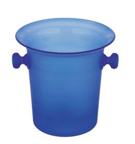 Acrylic Wine Bucket Blue
