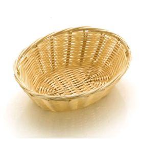 "Poly Rattan Basket Oval 18cm / 7"""