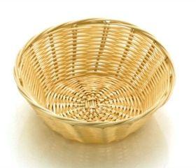 "Poly Rattan Basket Round 18cm / 7"""