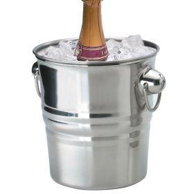 "Champagne Bucket S/Steel 8"" x 7.75"""