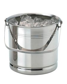 "Ice Bucket Stainless Steel H5¼"" x d5¼"""