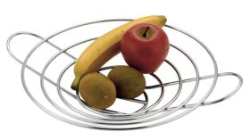Roma Flat Wire Fruit Basket