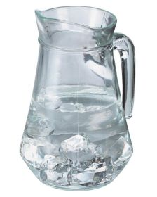Pack 6 Lipped Glass Jug 1.5L / 2.5Pt