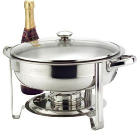 "Round Chafer 30cm / 12""  4.5 Ltr Food Pan"