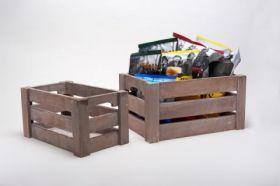 Paulownia Wooden Grate 26 x 16 x 14cm