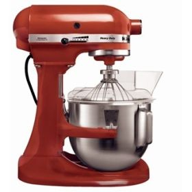 Commercial Mixer - KitchenAid Red K5 - 5KPM5BER