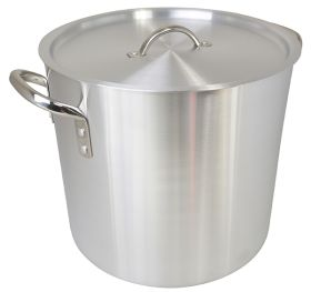 Aluminium Stockpot With Lid 8 Ltr - ZSP KASP008