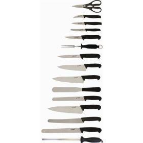 15 Piece Knife Set + Knife Case - Genware
