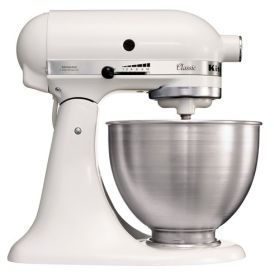 KitchenAid K45 - Semi Commercial Mixer - 5K45SSBWH  J400