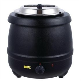 Buffalo L715 - Black 10L Soup Kettle