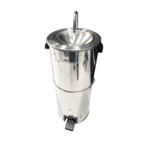Burco HW0110-P - Portable Hand Wash Basin - Hot & Cold Water Foot Pump