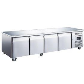 Blizzard LBC4NU 4 Door Freezer Counter No Upstand GN1/1 553L