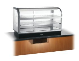 Lincat C6R/125BU Seal 650 - Curved Front Refrigerated Display - Back Service