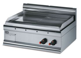 Lincat GS7R/N Half Ribbed Griddle - Natural Gas