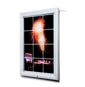 A2 (594x420mm) Premium LED Outdoor Poster Case.