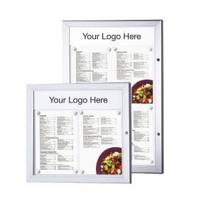 Header C Personalised Lockable Menu Case Header. 234x100mm