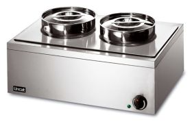 Lincat LRB2 Lynx 400 - Electric Bain Marie - 2 Pot Dry Heat