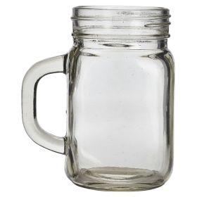 Genware Glass Mason Jar 45cl / 16oz
