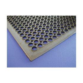 Black Rubber Kitchen Matt 90 x 150 x 1.4cm - Genware