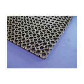 Black Rubber Kitchen Matt 100 x 150 x 2.3cm - Genware