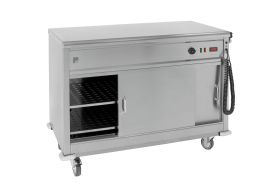 Parry MSF9 - Mobile Servery with Flat Top