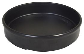 Melamine Tapas Dish 13.5cm Black MTAP-6K - Pack of 6
