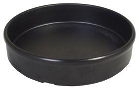 Melamine Tapas Dish 12cm Black MTAP-5K - Pack of 6