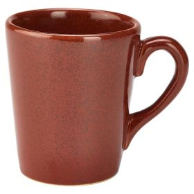 Terra Stoneware Rustic Red Mug 32cl/11.25oz - pk 6