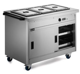 Lincat P8B3 Panther 800 Series - Hot cupboard with Bain Marie Top