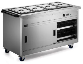 Lincat P8B4 Panther 800 Series - Hot cupboard with Bain Marie Top