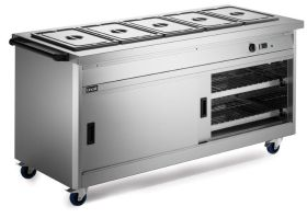 Lincat P8B5 Panther 800 Series - Hot cupboard with Bain Marie Top