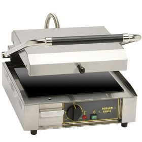 Roller Grill PANINI FT Large Single - Flat Top & Base Plates Contact Grill