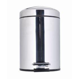 Stainless Steel Pedal Bin 5L - Genware