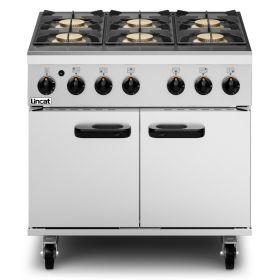 Lincat Phoenix PHGR01/P LPG Gas Oven Range - 6-Zone - W900mm - 45.5 kW