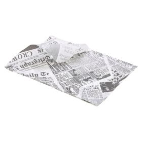 Greaseproof Paper 25X35cm (1000 Shts) Printed - Genware