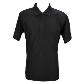 Polo Shirt Black- Small