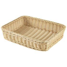 Polywicker Display Basket GN 1/2 - 32 x 26 x 7cm (L x W x H)