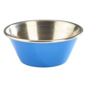 1.5oz Stainless Steel Ramekin Blue - Genware
