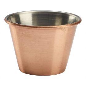 2.5oz Copper Plated Ramekin - Genware