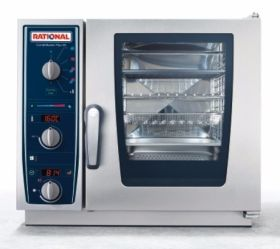 Rational CMPXSSP CombiMaster Plus XS 6 x 2/3GN Electric Combination Oven - Single Phase