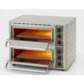 Roller Grill PZ430D Twin Oven, (2x) 510mm x 320mm with Stone Base