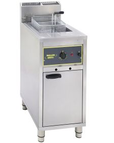 Roller Grill RFG16 16 Ltr Single Tank Floor Standing Deep Fat Fryer - LPG Gas