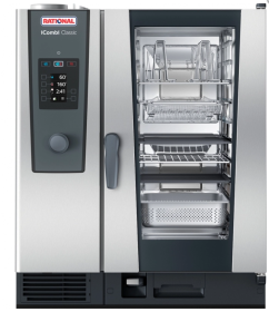 Rational iCombi Classic 10-1/1/E 10 Grid 1/1GN Electric Combination Oven
