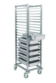 Parry SCT900 - 10 Tier SF Clearing Tray Trolley