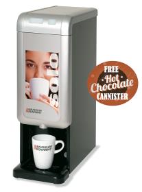 Bravilor Bonamat Solo - Hot Chocolate Machine - Free Chocolate Cannister